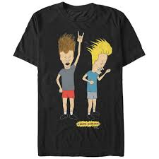 Beavis And Butthead Halloween Pictures by Beavis And Head Men U0027s Head Banging Rockers T Shirt