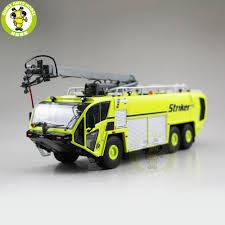 100 Airport Fire Truck 150 Striker OSHKOSH Truck Diecast Model Car Toys