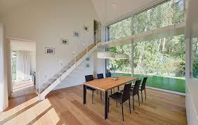 essbereich mit luftraum möhring architekten moderne