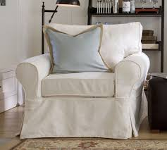Sure Fit Folding Chair Slipcovers by Cushions Sure Fit Stretch Plush Cream T Cushion Chair Slipcover