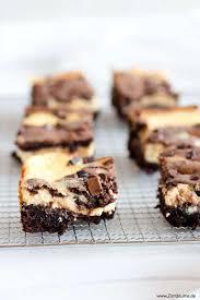 rezept für cheesecake brownies