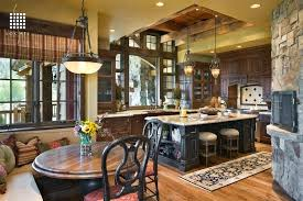 On A Budget Furniture Fancy Rustic Kitchen Ideas
