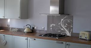 Glass Worktop Kitchen Splashback Textured Natola