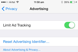 How To Disable Ad Tracking in iOS 8 on iPhone iPad