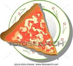 Clipart Pizza Slice Cheese Fotosearch Search Clip Art Illustration Murals