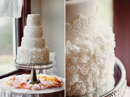 I ve featured Nicki s cakes on this blog before and I still love their work Here s a charming white buttercream cake adorned with fondant flowers and