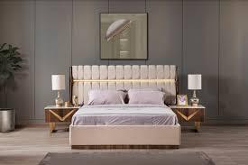 schlafzimmer set veno gold beige holzoptik 4 teilig moebel