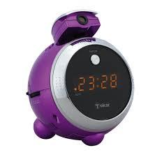 reveil heure au plafond tokai lre 152 violet radio radio réveil tokaï sur ldlc