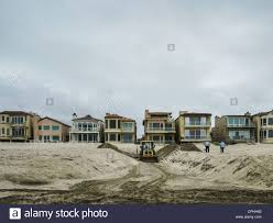 100 Oxnard Beach House A Trench Dug At The Beach In California With Beach
