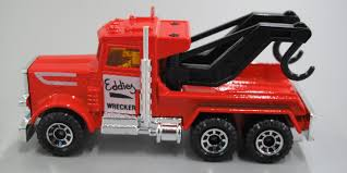 100 Matchbox Tow Truck Toy Tow Truck Peterbilt Wreck Truck Marked Eddies