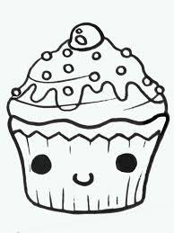 Cupcake Draw Free Download Clip Art Free Clip Art Clipart Cute Cupcake Drawing