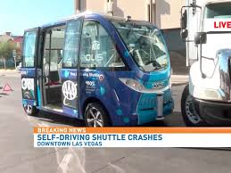 Las Vegas Self-driving Bus Crashes During First Day Due To 'human ...