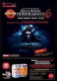 Universal Studios Halloween Haunted House by Drink Red Bull U0026 Win Tickets To Universal Studios Singapore U0027s