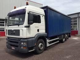 100 26 Truck MAN TGA 430 EURO 3 Trucks Curtainsider For Sale Tautliner Truck