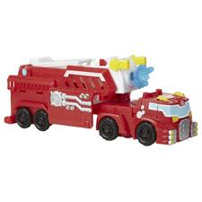 Transformers Rescue Bots Rig Hook & Ladder Heatwave | Intertoys