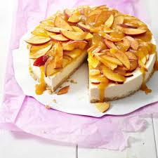 pfirsich frischkäse torte rezept
