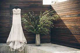Outdoor Boho Rustic Wedding Theme Bride Strapless A Line Gown With Flower Design Pattern On Top
