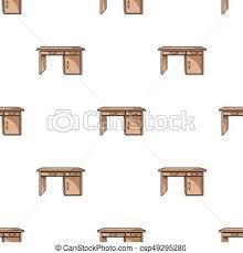 arriere plan de bureau animé style illustration bureau symbole isolé arrière plan