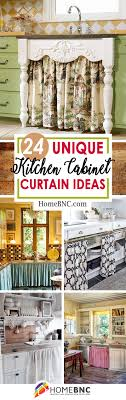 Kitchen Curtain Ideas Pictures 24 Best Kitchen Cabinet Curtain Ideas And Designs For 2021
