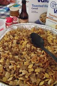 Pumpkin Spice Chex Mix With Candy Corn by Pumpkin Spice Chex Mix You Can Make It In The Oven Or Microwave