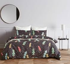 Bedding Set Dovet Sets Christmas Tree For Hotels Motels Cover And Pillow Cases Discount Duvets Comforter From Easehome 1385