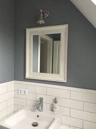 badezimmer bathroom weiss grau mit metro fliesen