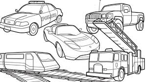Transportation Vroom These Coloring Pages Will Really Get Kids Crayons Moving