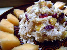 Design to Shine Honey Fruit Chicken Salad Recipe