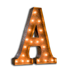 Small Marquee Letter Lights 91