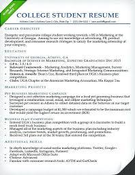 Sample Resumes For Recent College Graduates Graduate Resume Template Student Professional Picture So