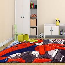 low cost Marvel Spiderman Rug HD Digital Kids Bedding Wall Decals