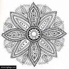Adult Coloring Pages Mandalas Printable