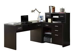 Black Writing Desk With Hutch by L Shaped Office Desk With Hutch Corner Writing Desk Corner Office