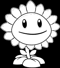 Plants Vs Zombies Coloring Page Free Printable Pages Inside 2