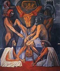 Jose Clemente Orozco Murales San Ildefonso by El Muralismo Mexicano