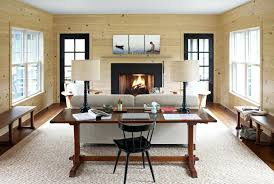 Living Room Decorating Bold Ideas Rustic Country Burlap Frame With Fireplace And Curtain Wooden Floor