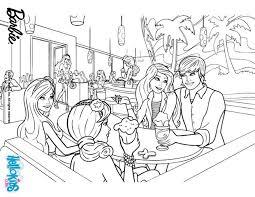 Barbie Ken And Friends Printable Color Online Print