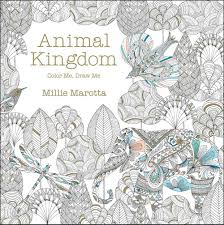 Amazon Animal Kingdom Color Me Draw A Millie Marotta Adult Coloring Book 9781454709107 Books