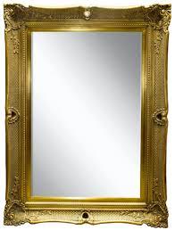 casa padrino barock spiegel gold 91 x h 120 cm prunkvoller wandspiegel mit holzrahmen und wunderschönen verzierungen barockgroßhandel de