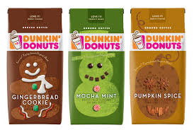 Dunkin Pumpkin Spice Donut by Enjoy Dunkin Donuts Holiday Coffee Flavors At Home Ddathome