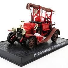 100 Diecast Truck Models 143 Fire 1922 Bomba Tanque 84 PS Delahaye SPAIN