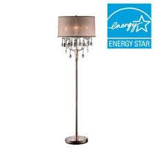 ok lighting 62 in antique rosie crystal floor l ok 5126f the