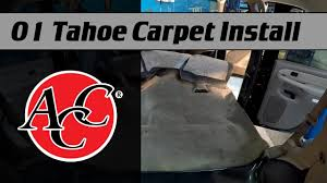 ACC Carpet Install In A 2001 Tahoe - YouTube 1995 To 2004 Toyota Standard Cab Pickup Truck Carpet Custom Molded Street Trucks Oct 2017 4 Roadster Shop Opr Mustang Replacement Floor Dark Charcoal 501 9404 All Utocarpets Before And After Car Interior For 1953 1956 Ford Your Choice Of Color Newark Auto Sewntocontour Kit Escape Admirably Pre Owned 2018 Ford Stock Interiors Black Installed On Cameron Acc Install In A 2001 Tahoe Youtube Molded Dash Cover That Fits Perfectly Cars Dashboard By