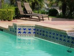 swimming pool tile accents