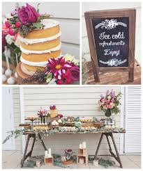 Stylish Ideas Rustic Bridal Shower Spectacular Idea Kara S Party Planning