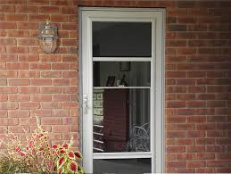 Doggie Door For Patio Door Canada by Custom Aluminum Storm Doors Screen Doors Provia