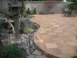 Ipe Deck Tiles Canada by Kontiki Interlocking Wood Deck Tiles Real Wood Xl Series 9 Slat