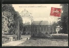 cpa st brice sous foret chateau du luat 4846422 cartes