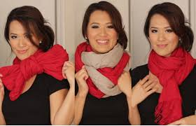 scarf tying ideas 6 ways to wear your scarves youtube