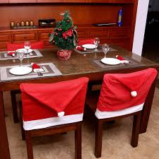 Amazon.com: Unomor Santa Hat Christmas Chair Back Covers, Santa ... Chair Back Covers Cara Medus Cover Indigo Fitted Kitchen Or Ding Room Chair Etsy How To Clean Velvet Fniture Couch Care Ding Ikea Bar Stool Chairs Casual Accented For 2 Cosco Wood Mission Folding 179869 Kitchen Embroidered How To Make A Slipcover For The Of Windsor Youtube Set Cozy Parson Interesting Best Fabric Cushions Prinplfafreesociety Room Round Awesome Side Christmas Santa Claus Snowman Elk Hotel Top Outdoor Tall Agreeable Rental Inch To And